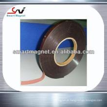 Tira magnética de material magnético industrial