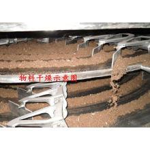 Secador continuo de la placa de la serie PLG 2017, secador de contacto de los SS, horno vertical del transportador de gas