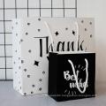 MOQ 500 Custom Woodfree Hand Art Paper Bag