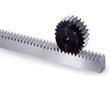 factory price carbon steel spur gear racks pinions
