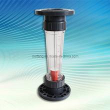 Rotámetro de tubo de plástico