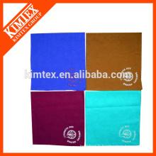 Cravate unique personnalisée en coton coloré