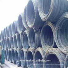 Varilla de alambre de acero de bajo carbono de venta caliente para construcción