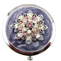 Crystal Lotus Compact Mirrors