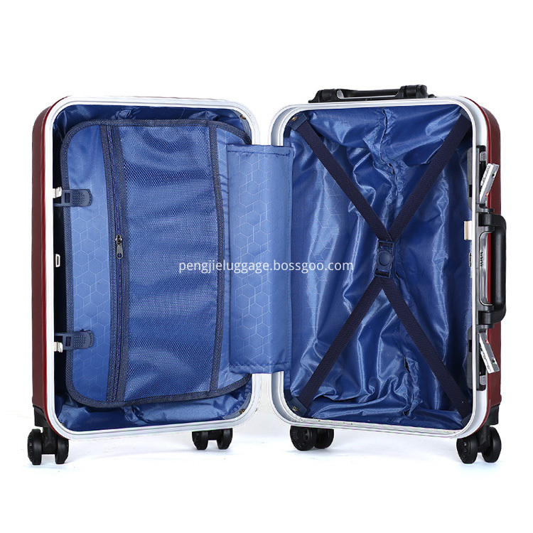 3pcs abs+pc trolley luggage set