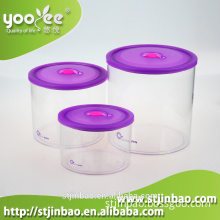 3pcs Set Red Tea Coffee Sugar Canisters China Factory