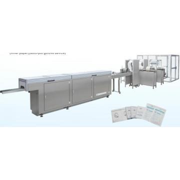 Machine à emballer automatique de gant en latex chirurgical