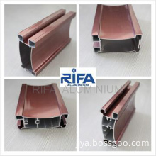 Anodized Bronze Aluminum Profile for windows and doors/ISO9001:2008
