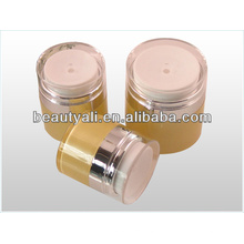 Cosmetic PMMA Airless Jar 15ml 30ml 50ml