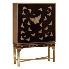 Mobília do hotel do armário do projeto da borboleta
