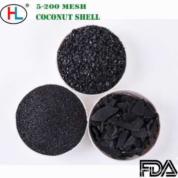Korn-Aktivkohle der Maschen-8X30 Kokosnussschale für Wasserbehandlung