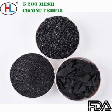 8Х30 сетка скорлупы кокосового ореха гранулированный активированный уголь для водоочистки