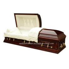 Новые гроб & шкатулка для похорон гроб