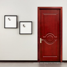 Chinese entrance solid wood door with low price