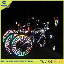 Reflectores de radios de bicicleta / Pegatina reflexivo de bicicleta