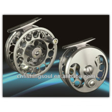 FLR005 Fishing gear real and aluminium fly fishing reel fly reel