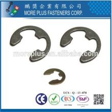Fabriqué en Taiwan Anneau de retenue type E DIN6799