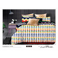 Vogue Geometrc printing, 120GSM Microfiber Bedding Set