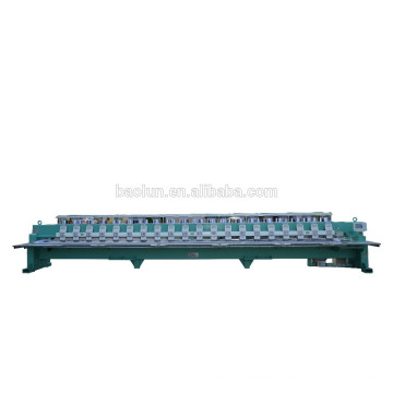 High speed flat embroidery machine