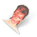 Personalice la impresión duradera del esmalte 3d que imprime el perno de la bufanda del contacto de la solapa de la Navidad