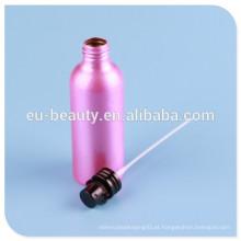 Frasco de perfume de alumínio com parafuso bomba de perfume pescoço: 24mm