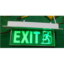 Emergency Exit Sign Light CE RoHS Acrylic (QH3567)