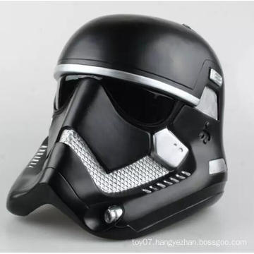 Black 1/6 Scale Down Helmet Customized Plastic Hat Doll Toys