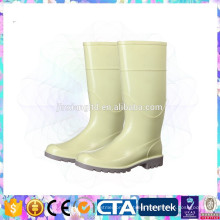 PVC ladies waterproof boots for gardening or farming