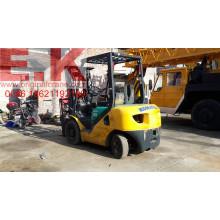 Япония Вилочный погрузчик 3 Ton Diesel Forklift Подержанный Komatsu Вилочный погрузчик (FD30)
