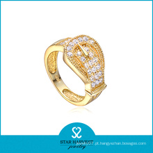 Moda jóias de ouro personalizado anel de prata (sh-r0041)