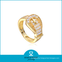 Fashion Golden Jewelry Personalized Silver Ring (SH-R0041)