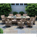 Hot Style Modern Rattan Furniture Outdoor Dining