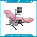 Компания AG-XD104 высота регулируемый стул дарителя крови электрооборудования больницы