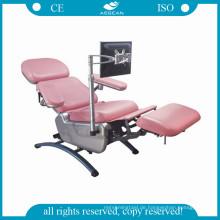 AG-XD104 höhenverstellbare Blutspender Stuhl elektrische Ausrüstung Krankenhaus verwendet