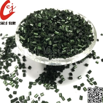 Free sample for Plastic Color Masterbatch Green Magic Masterbatch Granules supply to South Korea Supplier