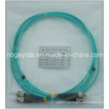 3.0 St-St Om3 dúplex fibra óptica Patch Cord