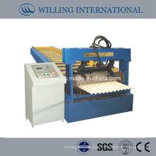 Machine de formage à froid de tôle ondulée en métal