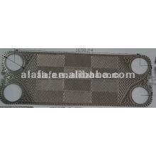 Placa de T20B e a junta, Alfa laval relacionadas com peças de reposição