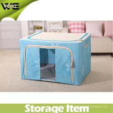 Grande boîte pliable de stockage de tissu pliable d'enfants vivants