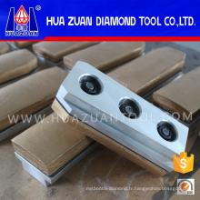 Bloc de meulage de diamant de Fickert de diamant de Huazuan pour le polissage de granit