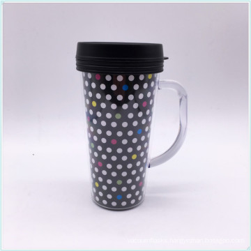 450ml Single Wall Kids Plastic Mugs