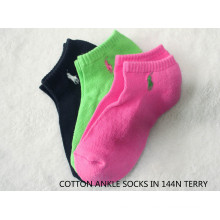 Women′s Terry Ankle Socks -15