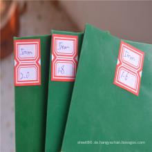 5mm grüne Farbe Rubber Sheet Rubber Pad zum Verkauf