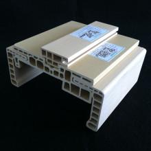 Kombinierte WPC Türrahmen Tür Stop WPC Architrave zusammen Df-120h32