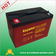 Batería de alta velocidad de descarga de 95 Ah 12V VRLA para el mercado europeo