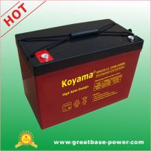 95 Ah 12V High Rate Discharge VRLA Battery for European Market