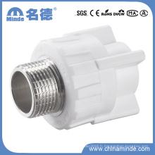 L'adaptateur mâle PPR sert d'accessoire pour les matériaux de construction
