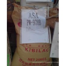 Matière première plastique Asa, PVC