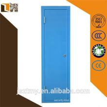Steel frame cheap wrought iron door,yongkang door factory,stock security door