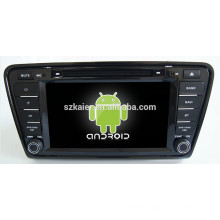 Android 4.4 Mirror-link TPMS DVR 1080P dual core car navigator for Skoda Octavia A7 with GPS/Bluetooth/TV/3G